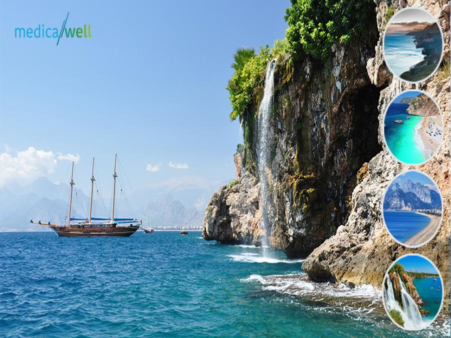 Treatment in Antalya. Combine vacation and care of your  health with us!