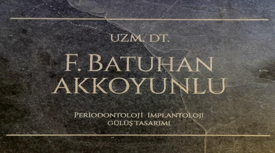 UZM DT.BATUHAN AKKOYUNLU